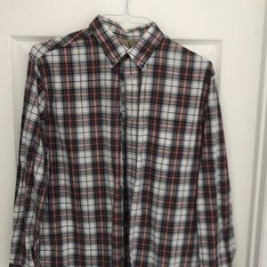 Men's Plaid Cabela's Button Down